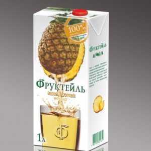 Фруктейль ананас