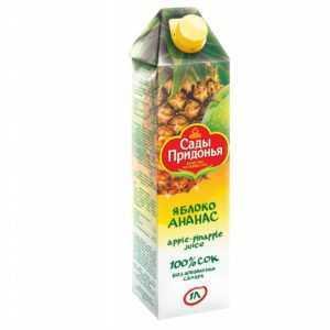 Яблочно-ананасовый