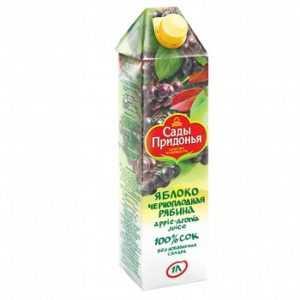 Яблоко-черноплодная рябина