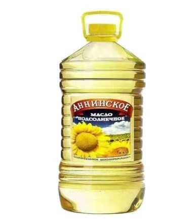 """Масло подсолнечное """"Анинское"""" 5 литров"""