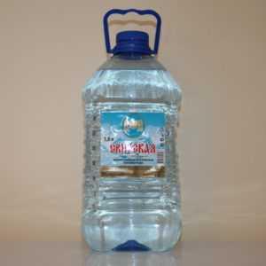 Вода Свирская питьевая 5 литров
