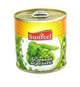 Зеленый горошек Sunfeel ж/б