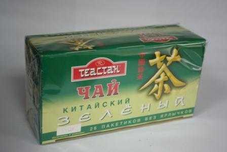 Зеленый китайский