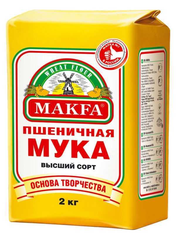 """Мука в/с """"Макфа"""" 2кг"""