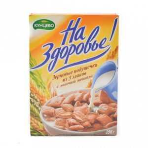 Подушечки с молочной начинкой 250гр Кунцево