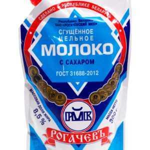 """Молоко сгущенное 8,5% 300гр """"Рогачев"""" мягкая упаковка"""
