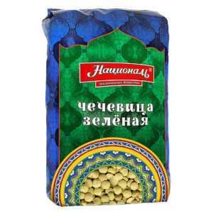"""Чечевица зеленая 450гр """"Националь"""""""
