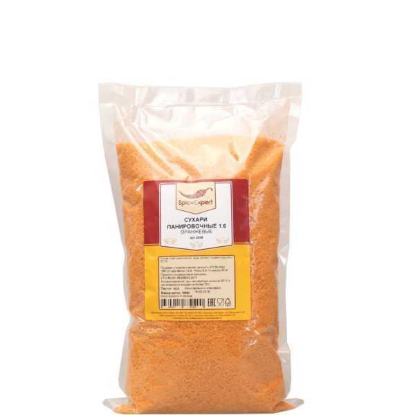 Сухари панировочный оранжевые 1кг