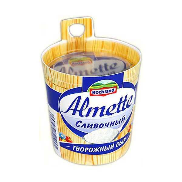 Сыр сливочный Альметте 150 гр Hochland