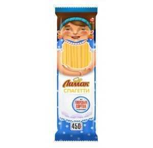Макароны спагетти 450гр Лимак