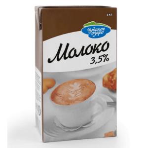 Молоко для капучино 3,5% 1л Чудское Озеро