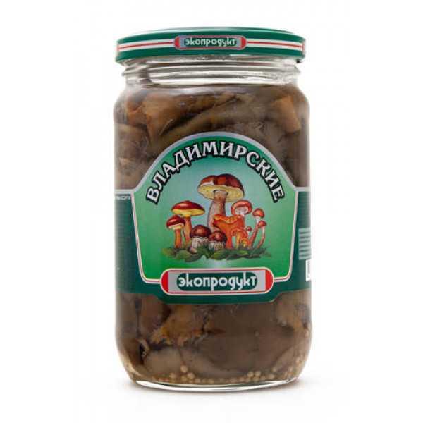 Грибное ассорти Владимирское 340мл Экопродукт