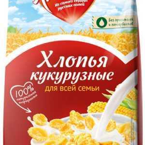 Хлопья кукурузные 300гр Любятово