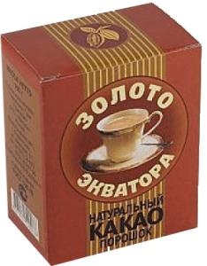Какао порошок 100гр Золото Экватора