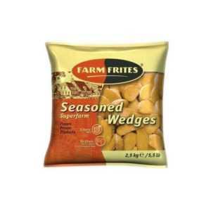 Картофель дольки без специй 2,5кг Farm Frites