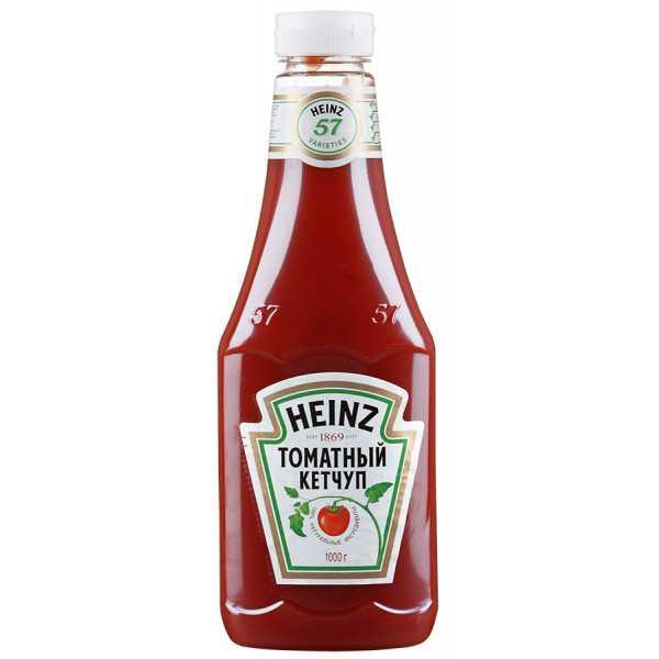 Кетчуп томатный 1000гр Heinz
