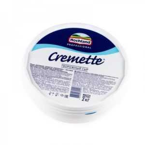 Сыр Креметте творожный 65% 2кг Hochland