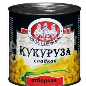 Кукуруза консервированная 425 мл Скатерть Самобранка