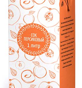 Сок персиковый 1л Диас