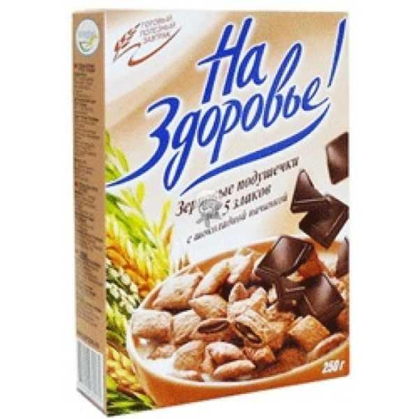 Подушечки с шоколадной начинкой 250гр Кунцево