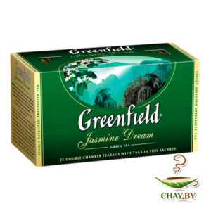 Чай Гринфилд зеленый Жасмин Дрим 25пак