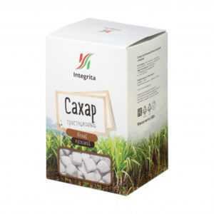Сахар белый тростниковый Integrita 500гр