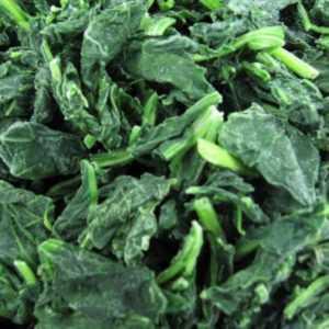 Шпинат листовой замороженный 2,5кг