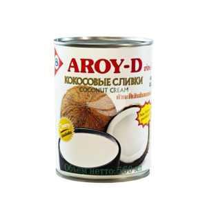 Сливки кокосовые 85% 560мл Aroy-d
