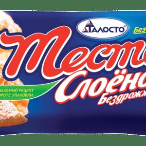 """Тесто слоеное бедрожжевое """"Без хлопот"""" Талосто 500гр"""