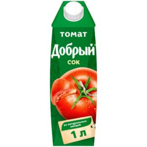 Сок Добрый томат  1л