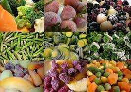 Ягоды и овощи замороженные