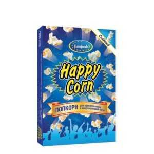 Попкорн соленый 100гр Happy Corn