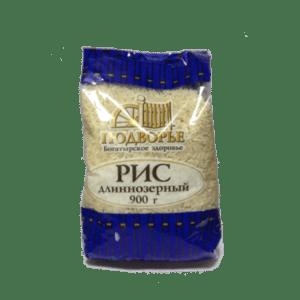 Рис Длиннозеный 900гр Подворье